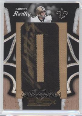 2010 Panini Epix New Orleans Saints Who Dat Lettermen [Autographed] #2 - Garrett Hartley /240
