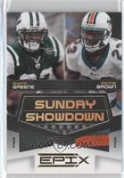 Ronnie Brown, Shonn Greene /50