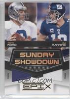 Eli Manning, Tony Romo /50