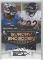 Calvin Johnson Jr., Matt Forte /200