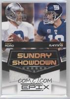Tony Romo, Eli Manning /200