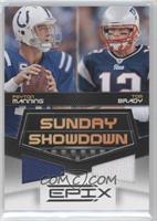 Tom Brady, Peyton Manning /200