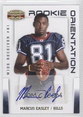 2010 Panini Gridiron Gear - Rookie Orientation - Signatures [Autographed] #35 - Marcus Easley /10