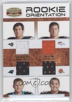 Sam Bradford, Tim Tebow, Jimmy Clausen /150
