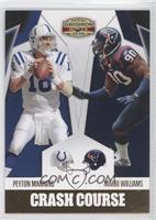Mario Williams, Peyton Manning /100