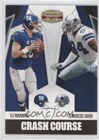 DeMarcus Ware, Eli Manning /100