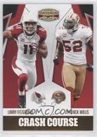 Larry Fitzgerald, Patrick Willis /100