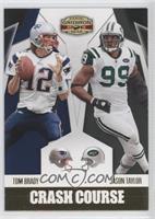 Jason Taylor, Tom Brady /100