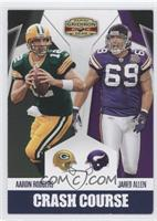 Jared Allen, Aaron Rodgers /25