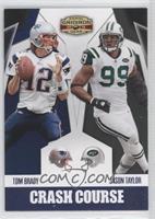 Jason Taylor, Tom Brady /25
