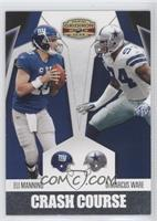 DeMarcus Ware, Eli Manning /250