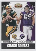 Aaron Rodgers, Jared Allen /250