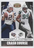 Jason Taylor, Tom Brady /250