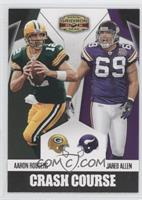 Jared Allen, Aaron Rodgers
