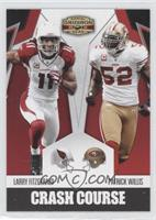 Patrick Willis, Larry Fitzgerald