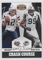 Tom Brady, Jason Taylor