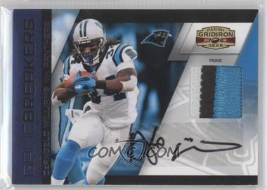 2010 Panini Gridiron Gear Gamebreakers Materials Prime Signatures [Autographed] [Memorabilia] #10 - DeAngelo Williams /5