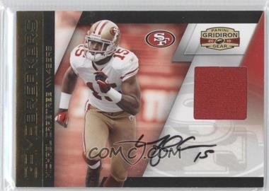 2010 Panini Gridiron Gear Gamebreakers Materials Signatures [Autographed] [Memorabilia] #24 - Michael Crabtree /15