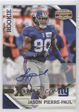 2010 Panini Gridiron Gear Gold Xs Signatures [Autographed] #196 - Jason Pierre-Paul /299