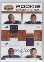 C.J. Spiller, Jahvid Best, Ryan Mathews, Toby Gerhart /150