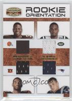 Jermaine Gresham, Rob Gronkowski, Joe McKnight, Montario Hardesty /150