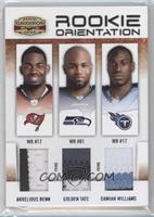 Damian Williams, Golden Tate, Arrelious Benn /25