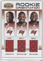 Arrelious Benn, Mike Williams, Gerald McCoy /250