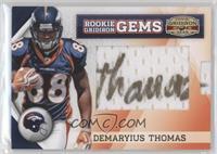 Rookie Gridiron Gems Jumbo Signatures - Demaryius Thomas /173