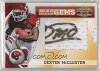 Rookie Gridiron Gems Jumbo Signatures - Dexter McCluster /185