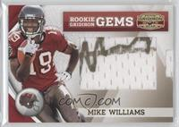 Rookie Gridiron Gems Jumbo Signatures - Mike Williams /170