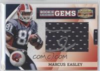 Rookie Gridiron Gems Jumbo Signatures - Marcus Easley /178