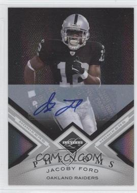 2010 Panini Limited - [Base] - Monikers Silver [Autographed] #12 - Jacoby Ford /199