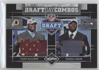 Russell Okung, Trent Williams /100