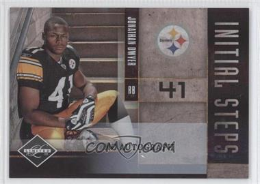 2010 Panini Limited Initial Steps Signatures [Autographed] #6 - Jonathan Dwyer /99