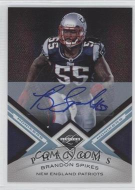 2010 Panini Limited Monikers Platinum [Autographed] #156 - Brandon Spikes /1