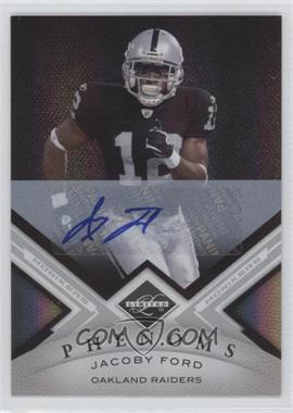 2010 Panini Limited Monikers Silver [Autographed] #172 - Jacoby Ford /199