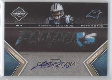 2010 Panini Limited Spotlight Gold #228 - Armanti Edwards /10