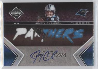 2010 Panini Limited #216 - Jimmy Clausen /199