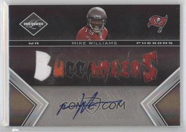 2010 Panini Limited #231 - Mike Williams /199