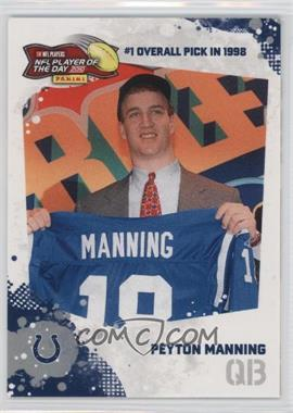 2010 Panini NFL Player of the Day - [???] #POD-PM1 - Peyton Manning /100