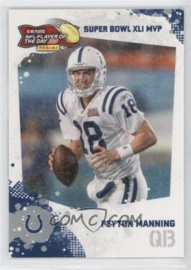 2010 Panini NFL Player of the Day [???] #POD-PM3 - Peyton Manning
