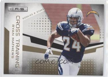 2010 Panini Rookies & Stars Cross Training Gold #12 - Ryan Mathews /500
