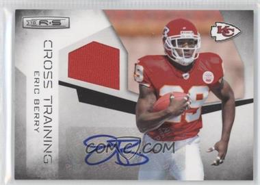 2010 Panini Rookies & Stars Cross Training Materials Signatures [Autographed] [Memorabilia] #19 - Eric Berry /100
