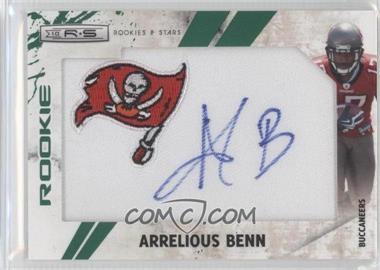 2010 Panini Rookies & Stars SP Rookies Emerald Team Logo Patch Signatures [Autographed] #255 - Arrelious Benn /5