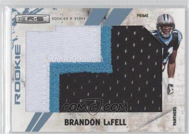 2010 Panini Rookies & Stars SP Rookies Jumbo Platinum Prime [Memorabilia] #257 - Brandon LaFell /1