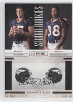 Demaryius Thomas, Tim Tebow /500