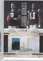 Brandon LaFell, Jimmy Clausen /50