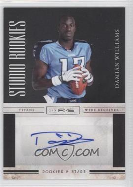 2010 Panini Rookies & Stars Studio Rookies Signatures [Autographed] #14 - Damian Williams /10