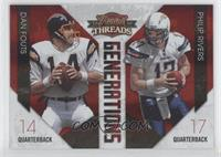 Philip Rivers, Dan Fouts /100