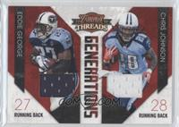 Chris Johnson, Eddie George /200